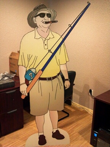 dad lifesize cutout