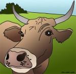 caramel the cow